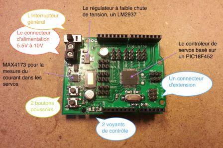 La carte électronique de Bleuette